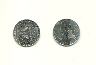 Piece 10 € Argent - France Euro Des Regions : Auvergne 2010 / Silver Coin Europe