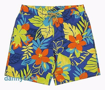 4c76458720 Men Polo Ralph Lauren Captiva Tropical Floral Blue Swim Trunks Surf Board  Shorts