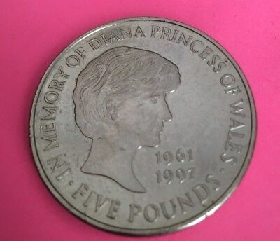Collectible £5 Coin Princess Diana Limited Edition Uk Currency Money