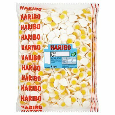 Haribo Fried Eggs Party Wedding Retro Chewy Sweets