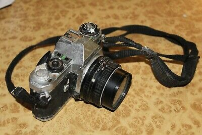 PENTAX MEF Camera with SMC Pentax 1:1.7 50mm Lens