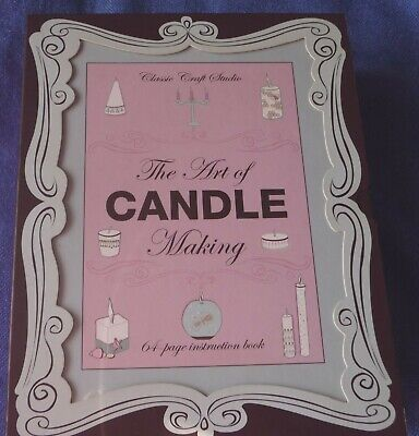Candle Making Gift set NEW with 64 page instruction book - ideal gift?