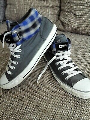 CONVERSE ALL STAR chucks HERREN TURNSCHUHE SNEAKERS GR 46 29,5 cm UK 11 cm Grau/