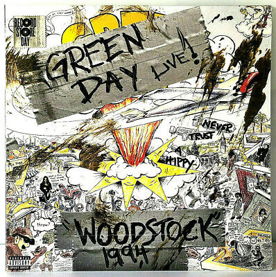 "RSD 2019 Green Day Woodstock 1994 Live 12"" LP Vinyl Record Store Day Exclusive"
