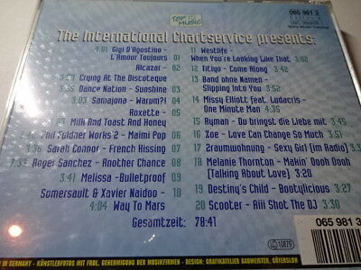 20 Top Hits Winter Extra 2001 Sarah Connor Roxette Ayman Xavier Naidoo Scooter