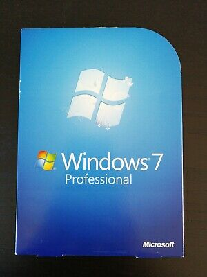 Microsoft Windows 7 Professional Boxed Retail DVD Version with SP1