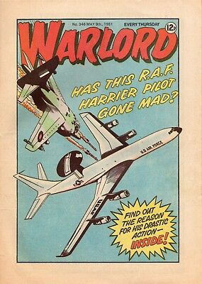 Warlord Uk War Comic. Issue 346 Good Condition See Scan
