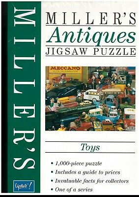 """Miller's Antiques 1000 piece jigsaw titled """"Toys"""". Complete."""