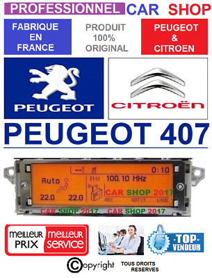 Afficheur Peugeot 407 Lcd Multifunctional Display Screen 407