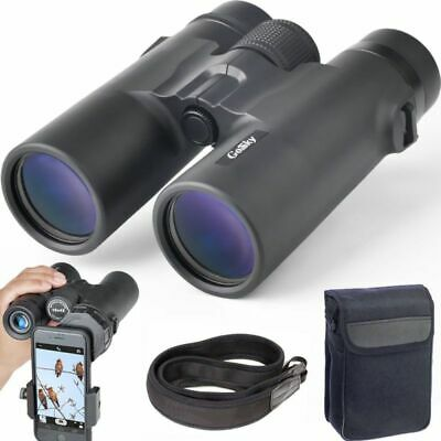Gosky 10x 42mm Professional Binoculars Compact HD  for Bird Watching