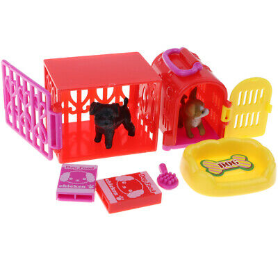 Pet Store w/ Pet Supplies & Carriers Kids Pretend Play Toy Christmas Gift