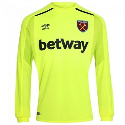 West Ham United Goalkeeper 2017/18  Shirt Xl Tags/Packet