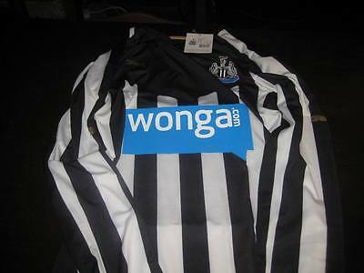 Newcastle United Authentic 2014/15 Long Sleeve Shirt,Tags/Packet.xlarge