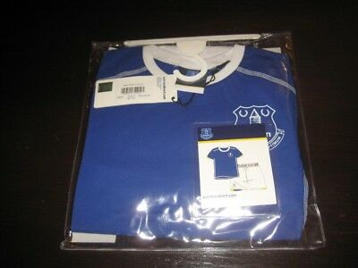 Everton Boys Pajamas Set 6/7 Years Old Brand New In Packet
