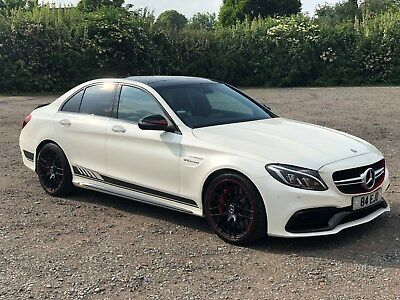 2016 C63 Class Amg S Edition 1 Mercedes