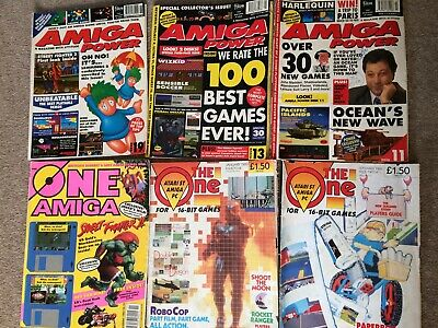 Amiga Power Magazine Issue 11, 13, 19 Plus 3x Copies Of The One No Cover Disks,