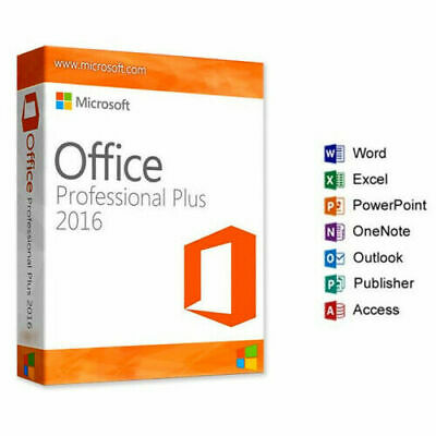 Microsoft Office 2016 Professional Plus MS Office PRO Plus Instant Delivery