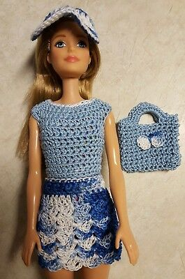 Barbie Doll Clothes Crochet New Handmade