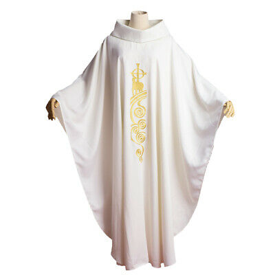 Christian Lamb of God Embroidery Clergy Chasuble Catholic Church Priest Vestment