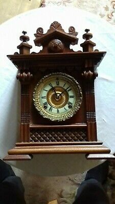 Antique. American. 8 day   Mantel clock by .Ansonia.