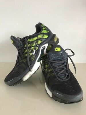 the best attitude 2aa76 c16a2 Nike Air Max Plus (GS) TN S UK 6 Dark Grey Volt Trainers Sneakers Shoes