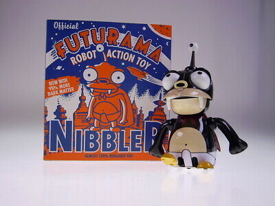 "GSFI GSCOM FUTURAMA ""NIBBLER"" 21cm, TIN TOY, NEU/NEW/NEUFn BOX!"