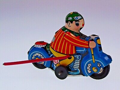 "GSMOTO GSCLOWN ""CLOWN MOTO"" CHINA 10cm, UHRWERK, ÜBERSCHLAG, NEU/NEW/NEUF !"