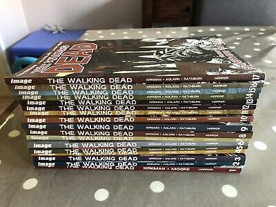 The Walking Dead Comic Graphic Novel Volumes 1 - 17 Good Condition