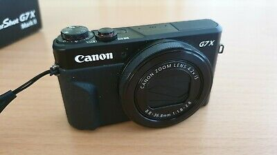 Canon PowerShot G7 X Mark II Digital Camera - G7x MK2  Excellent Condition