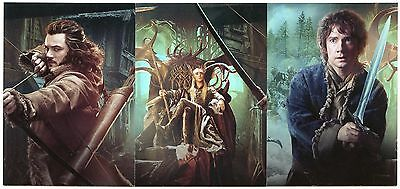 The Hobbit Desolation of Smaug Collage3-Card (CP1-3) Insert Set