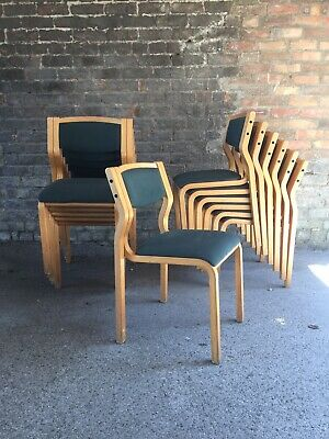 mid century chair Stacking 1980's
