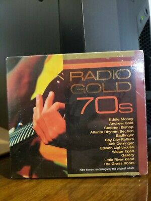 Radio Gold 70s Various Artists CD New Sealed