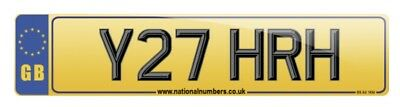 Y27 HRH Private Plate