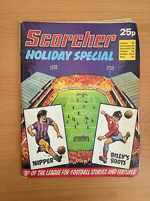 1975 SCORCHER comic HOLIDAY SPECIAL