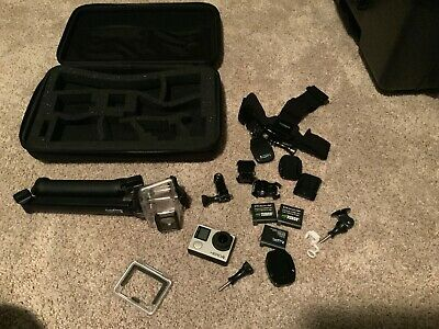 GoPro Hero 4 Black Edition Action Camera - USED - Accessories & Case Included