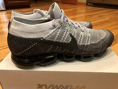 7d119472e6195 Nike Air Vapormax Flyknit E Heritage Pure Platinum Anthracite 922915-002  Size 13