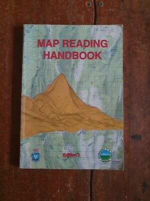 Map reading hand book produced by the Tasmanian government in 1978.