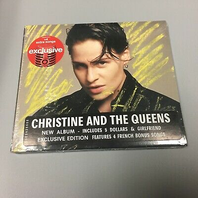 CHRISTINE AND THE QUEENS Chris LIMITED EDITION EXPANDED TARGET CD 4 BONUS TRKS