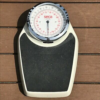 Vtg Seca Bathroom Scale 320 lb made in Germany Large Dial Mechanical Analog SH
