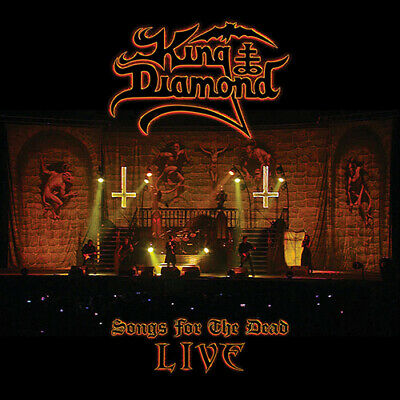 KING DIAMOND - Songs for the Dead CD + 2 DVD