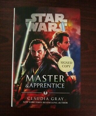 Disney Star Wars Master & Apprentice Book Signed Autograph Claudia Grey 2019