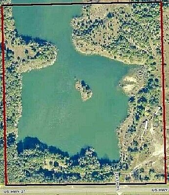 43.25 Acre Florida Waterfront Land (Lake & Island) Foreclosure Opportunity Sale!