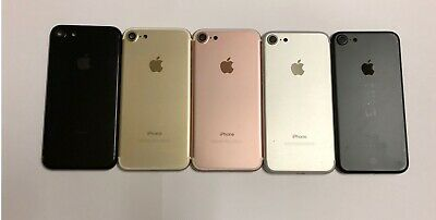 ☆ Original Apple iPhone 7 Replacement Back Housing Cover Black Gold Silver Rose