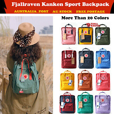 Fjallraven Kanken Sport Backpack Travel Shoulder School Bag Handbag