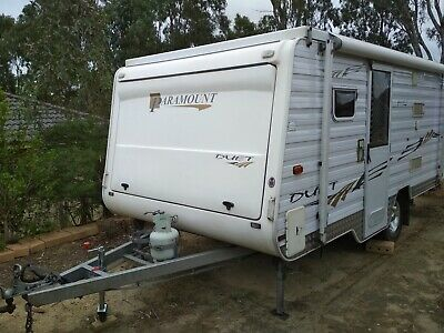 PARAMOUNT DUET 2009 SEMI OFF-ROAD CARAVAN Similar to Jayco Expanda Pop Top