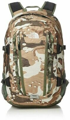 THE NORTH FACE NM71861 Backpack Big Shot Moab Khaki Woodchip Camo From Japan EMS
