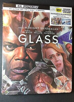 GLASS [ Limited STEELBOOK Edition ]  ( 4K Ultra HD + Blu-ray) NEW