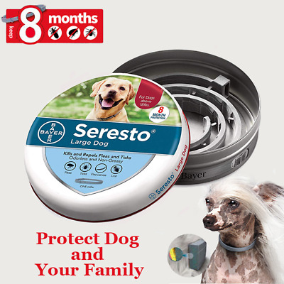 Bayer Seresto Flea & Tick Collar Protection for Large Dogs FREE SHIPPING