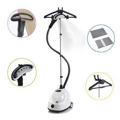 Fridja f1000 Clothes Garment Steamer 1500W Powerful Suits - White