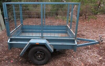 Trailer, 6ft x 4ft with cage